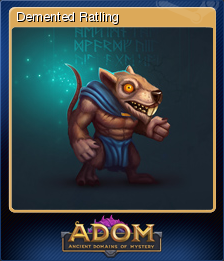 ADOM (Ancient Domains Of Mystery) - Demented Ratling