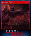 Final Rush Card 1