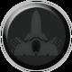 Gun Metal Badge 1