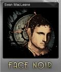 Face Noir Foil 4