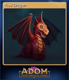 ADOM (Ancient Domains Of Mystery) - Red Dragon