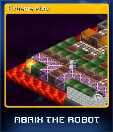 Abrix the robot - Extreme Abrix