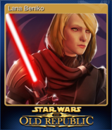 STAR WARS The Old Republic Card 1