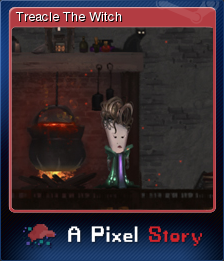 A Pixel Story - Treacle The Witch