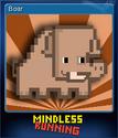 Mindless Running Card 2