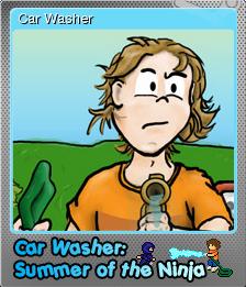Car Washer Summer of the Ninja Foil 1.png