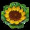 Season Match 2 Emoticon big sunflower