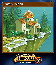 12 Labours of Hercules V: Kids of Hellas - Safety island