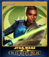 STAR WARS The Old Republic Card 2