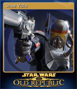 STAR WARS The Old Republic Card 3
