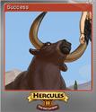 12 Labours of Hercules II The Cretan Bull Foil 5