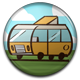 Summer Road Trip Badge 75