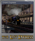 The Last Express Gold Edition Foil 5