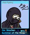 Car Washer Summer of the Ninja Card 7