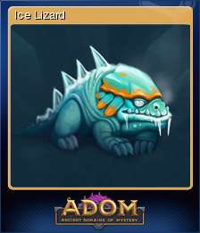 ADOM (Ancient Domains Of Mystery) - Ice Lizard