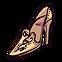 Cinders Emoticon glassslipper
