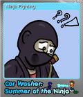 Car Washer Summer of the Ninja Foil 7