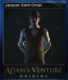 Adam's Venture: Origins - Jacques Saint-Omair