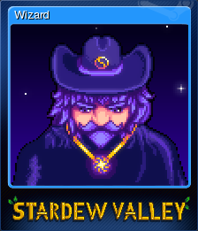 Stardew Valley Wizard Steam Trading Cards Wiki Fandom Want to discover art related to stardew_valley_wizard? stardew valley wizard steam trading
