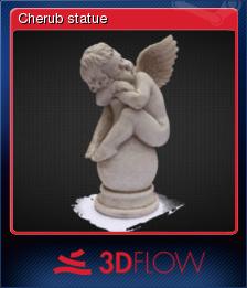 3DF Zephyr Lite 2 Steam Edition - Cherub statue