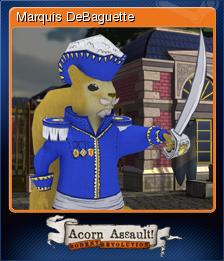 Acorn Assault: Rodent Revolution - Marquis DeBaguette