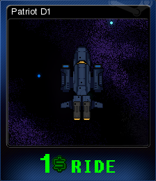 $1 Ride - Patriot D1