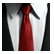 Hitman Absolution Emoticon Tie.png