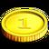 12 Labours of Hercules II The Cretan Bull Emoticon gold coin