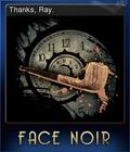 Face Noir Card 3