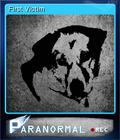 Paranormal Card 3