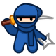 10 Second Ninja Badge 5