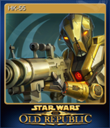 STAR WARS The Old Republic Card 4