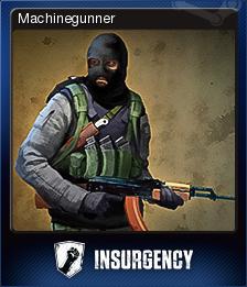 Insurgency - Machinegunner