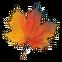 Season Match 2 Emoticon autumn leaf