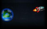 Super Panda Adventures Background Panda in Space