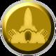 Gun Metal Badge 4