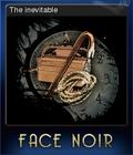 Face Noir Card 6