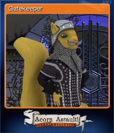 Acorn Assault: Rodent Revolution - Gatekeeper
