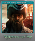 Nightmares from the Deep The Cursed Heart Foil 3