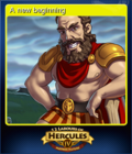 12 Labours of Hercules IV Mother Nature Card 7