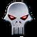 Joe Devers Lone Wolf HD Remastered Emoticon lwskull