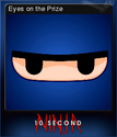10 Second Ninja Card 3