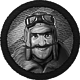 BOMB Who let the dogfight Badge 1
