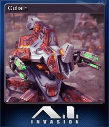 A.I. Invasion - Goliath