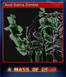 A Mass of Dead - Acid Saliva Zombie