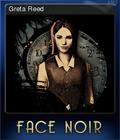 Face Noir Card 2