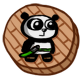 Super Panda Adventures Badge 1