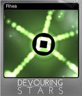 Devouring Stars Foil 3