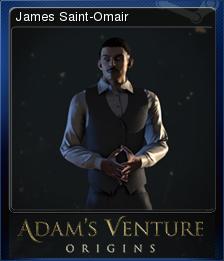Adam's Venture: Origins - James Saint-Omair