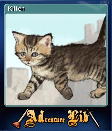 ADventure Lib - Kitten